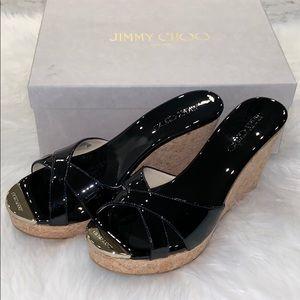 ✨NIB✨ Authentic  Jimmy Choo wedges size 39 1/2